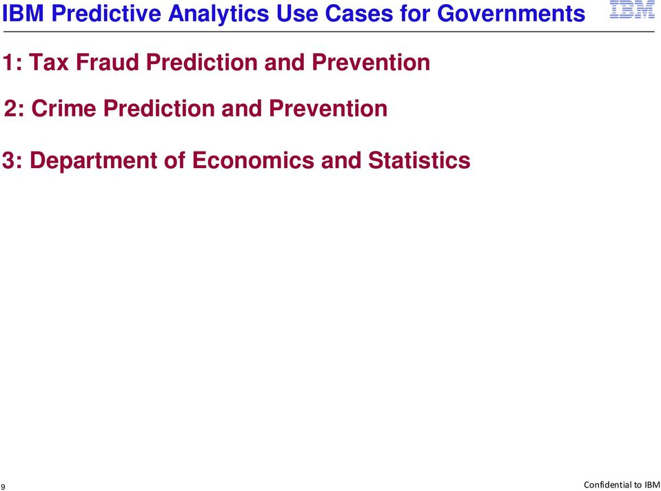 Prevention 2: Crime Prediction and Prevention