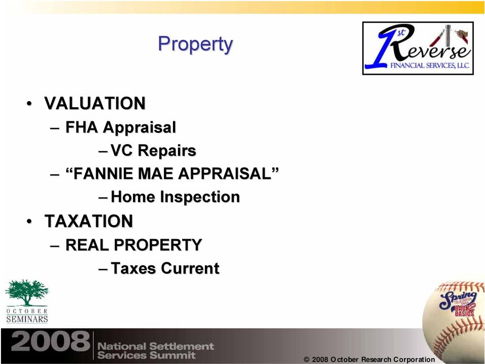 MAE APPRAISAL Home Inspection