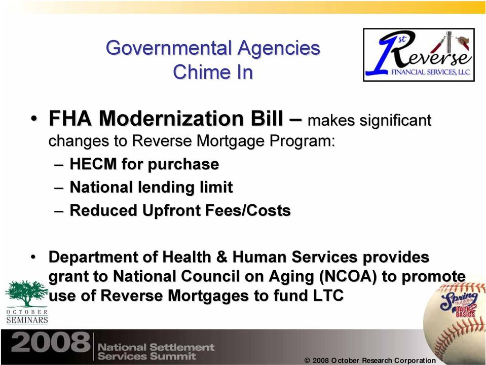 Reduced Upfront Fees/Costs Department of Health & Human Services provides