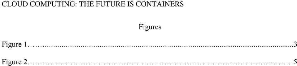 CONTAINERS Figures