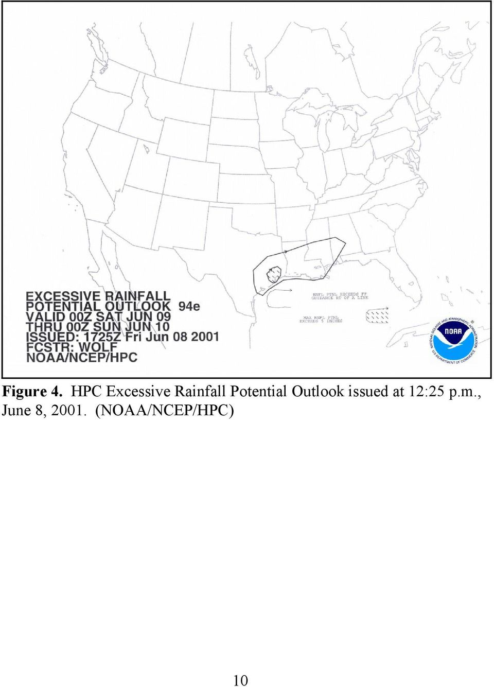 Potential Outlook issued