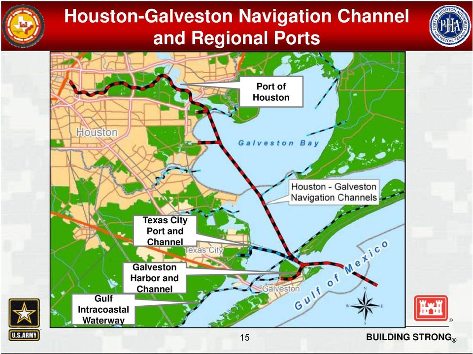Texas City Port and Channel Galveston