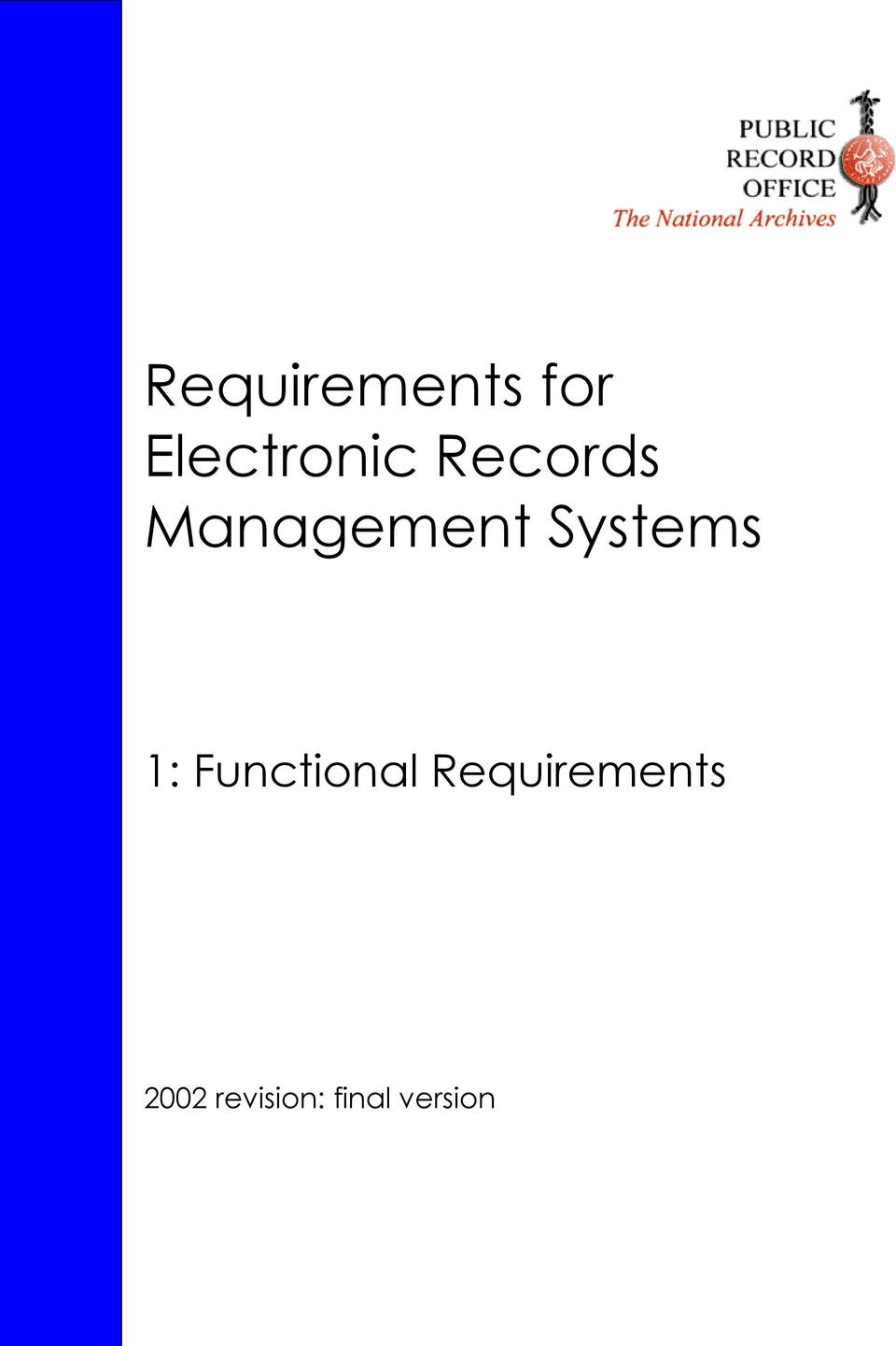 1: Functional Requirements