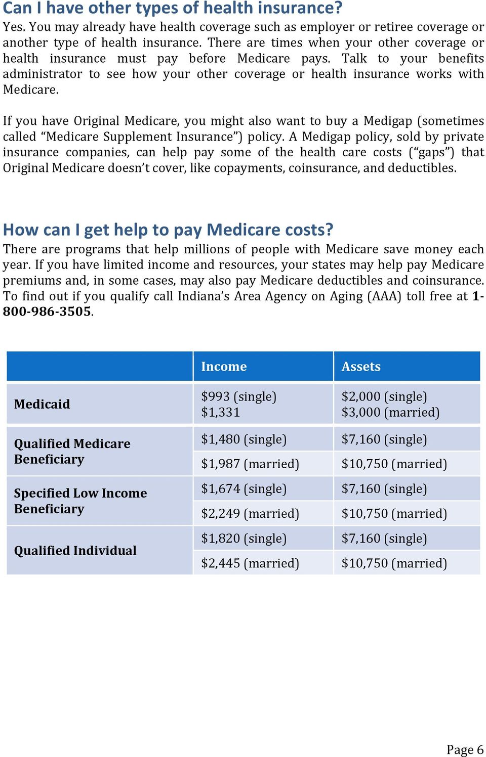 If you have Original Medicare, you might also want to buy a Medigap (sometimes called Medicare Supplement Insurance ) policy.