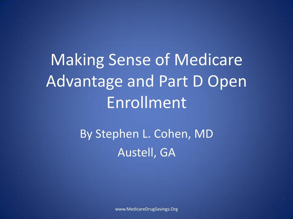 Open Enrollment By