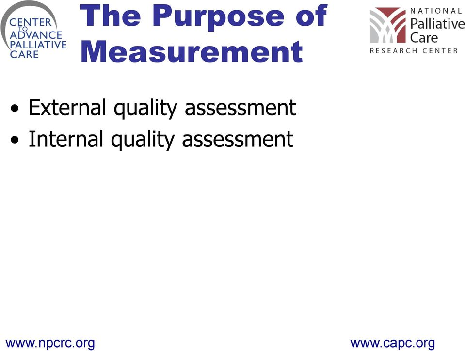 quality assessment