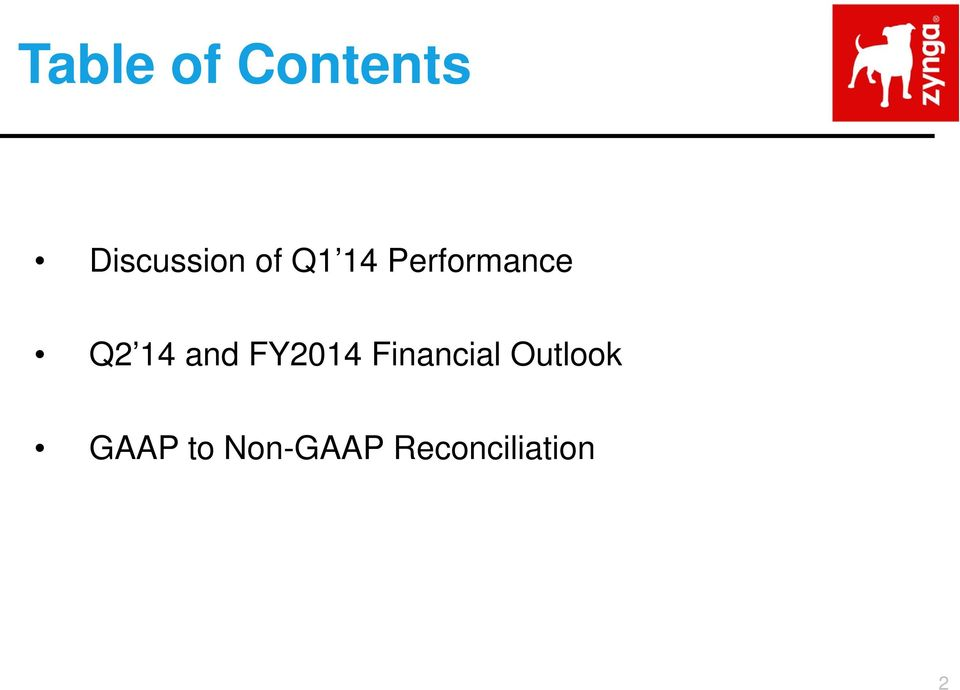 and FY2014 Financial Outlook