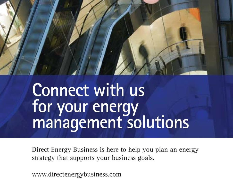 help you plan an energy strategy that