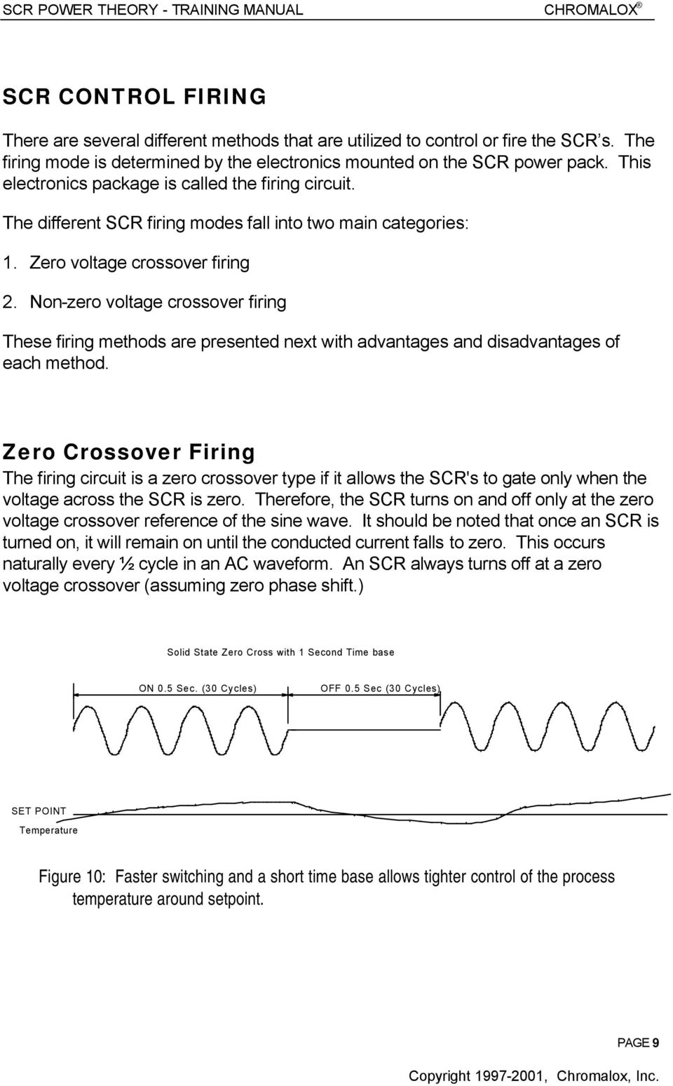 Scr Power Theory Training Manual Pdf Using An Allows The Use Of Lowvoltage Electronics To Control Zero Voltage Crossover Firing 2 Non These Methods Are