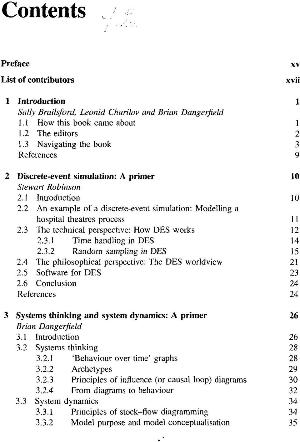 Discrete-Event Simulation and  System Dynamics for  Management