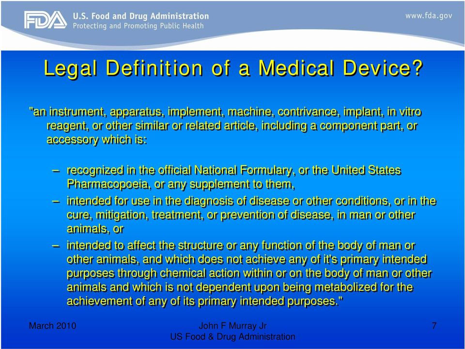 official National Formulary, or the United States Pharmacopoeia, or any supplement to them, intended for use in the diagnosis of disease or other conditions, or in the cure, mitigation, treatment, or