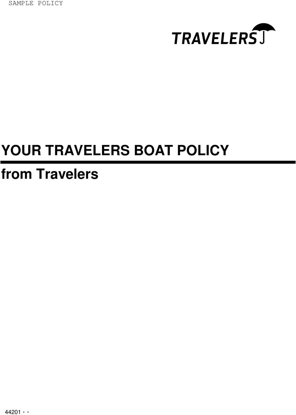 BOAT POLICY