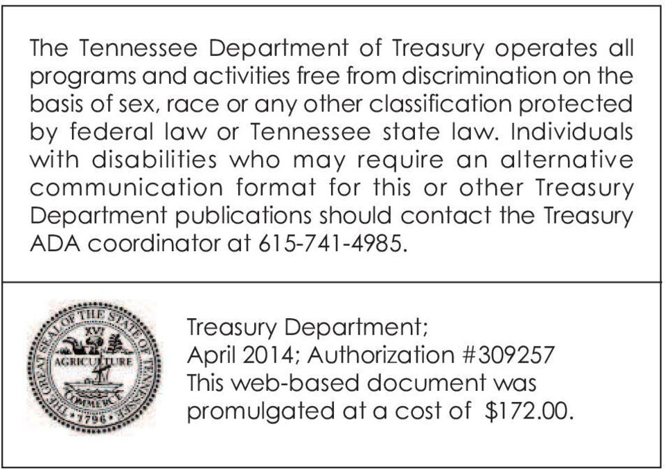 Individuals with disabilities who may require an alternative communication format for this or other Treasury Department