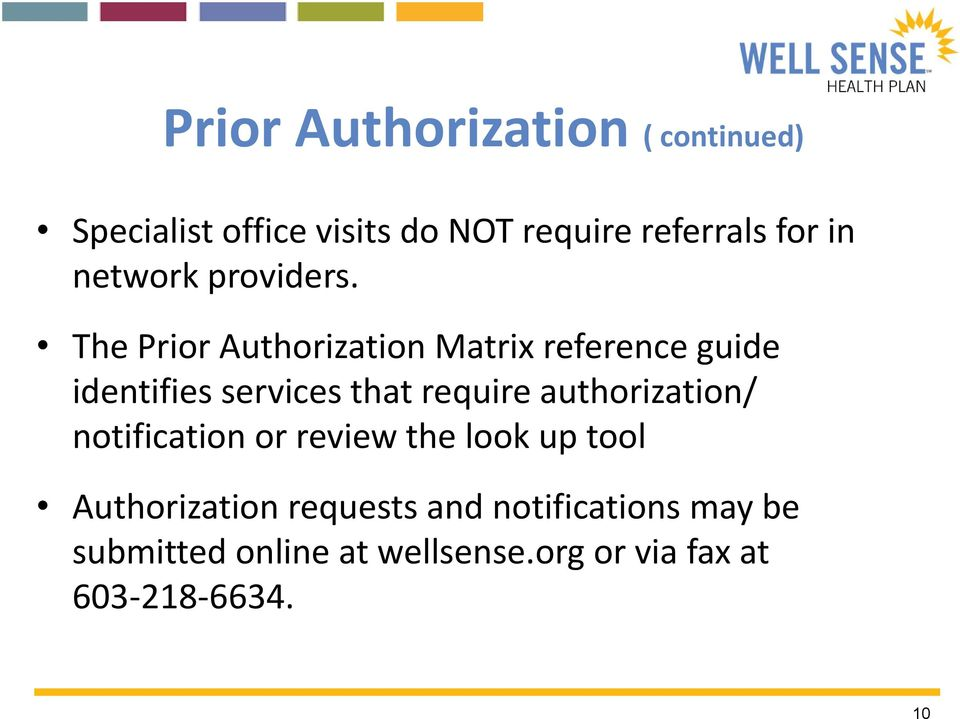 The Prior Authorization Matrix reference guide identifies services that require