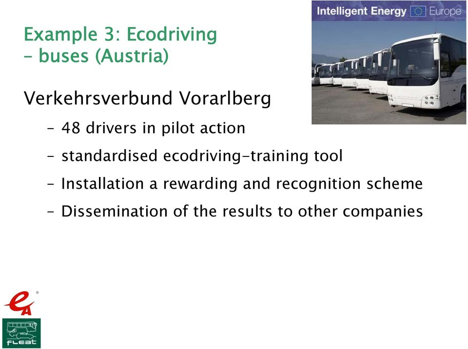 ecodriving-training tool Installation a rewarding and