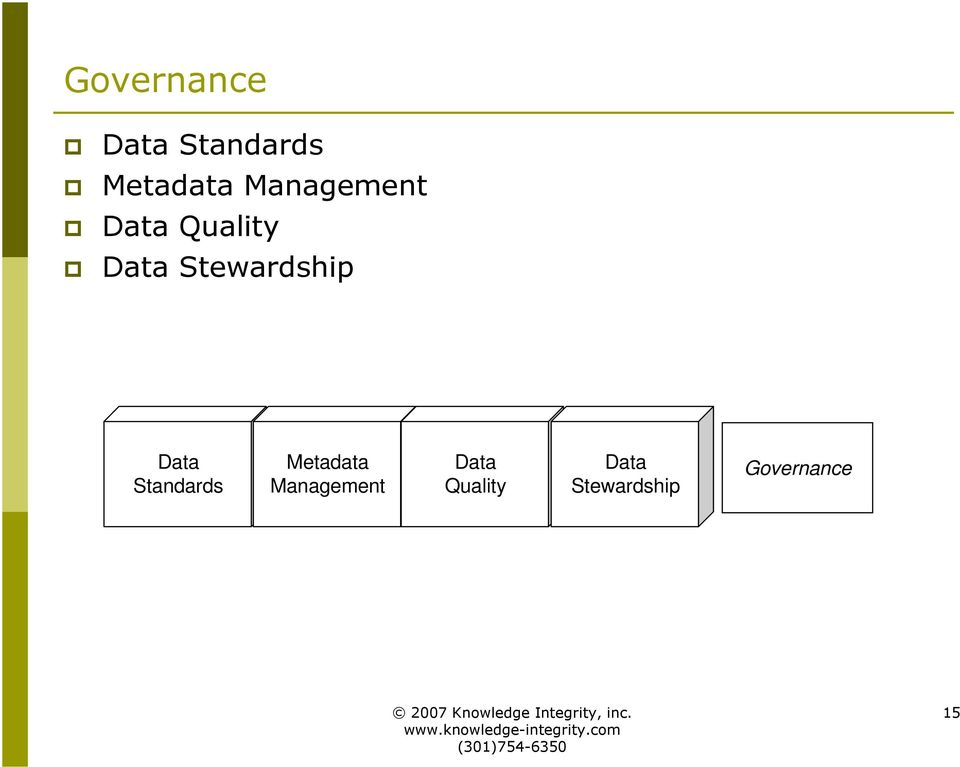 Stewardship Data Standards Metadata