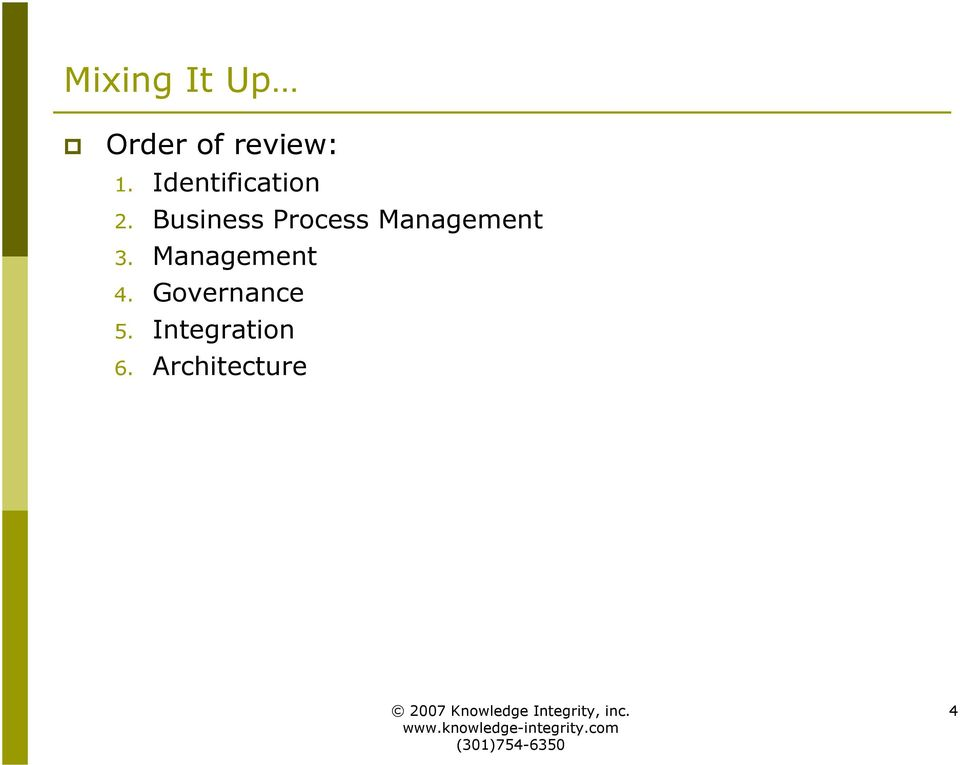 Business Process Management 3.