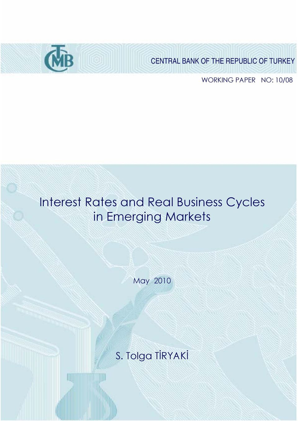 Interest Rates and Real Business