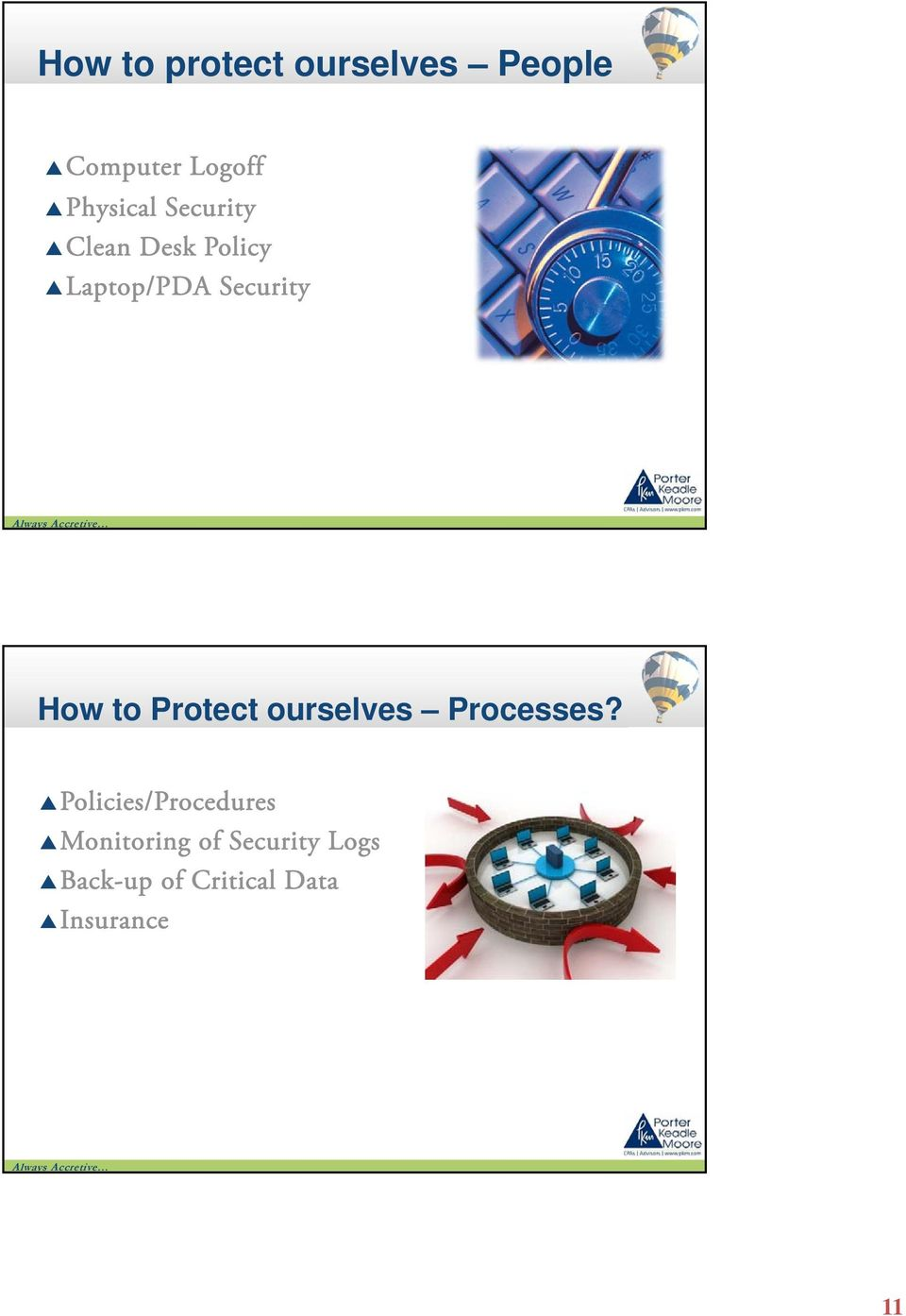 Protect ourselves Processes?