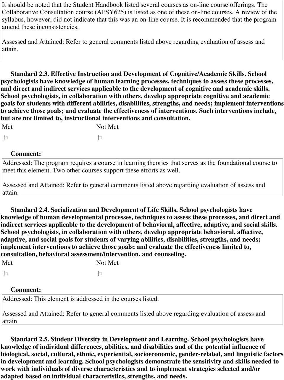 Effective Instruction and Development of Cognitive/Academic Skills.
