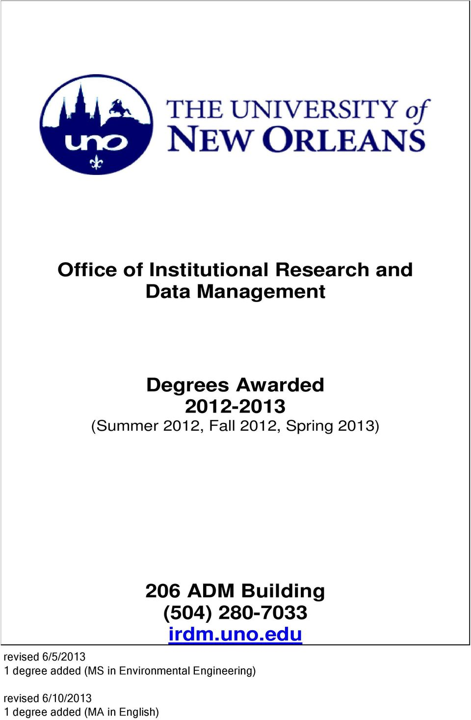degree added (MS in Environmental Engineering) revised 6/10/2013 1