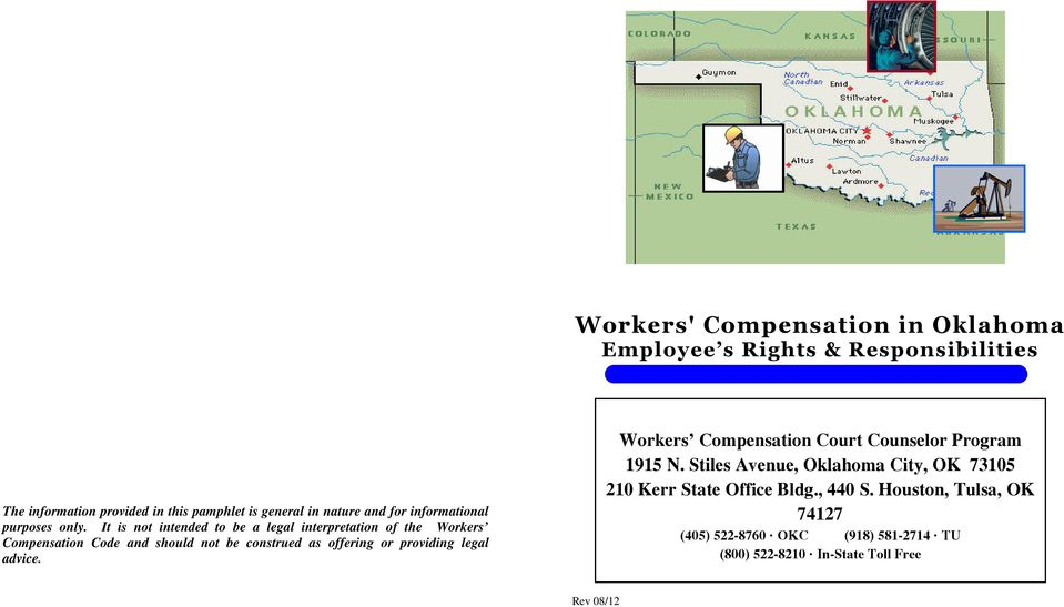 It is not intended to be a legal interpretation of the Workers Compensation Code and should not be construed as offering or providing
