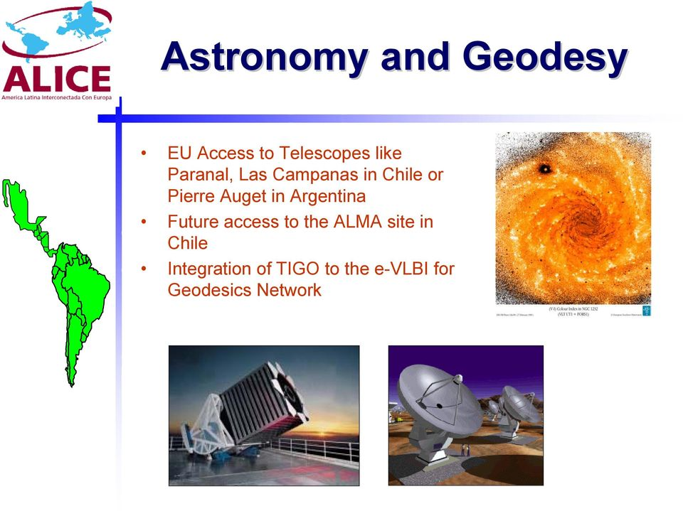 Argentina Future access to the ALMA site in Chile