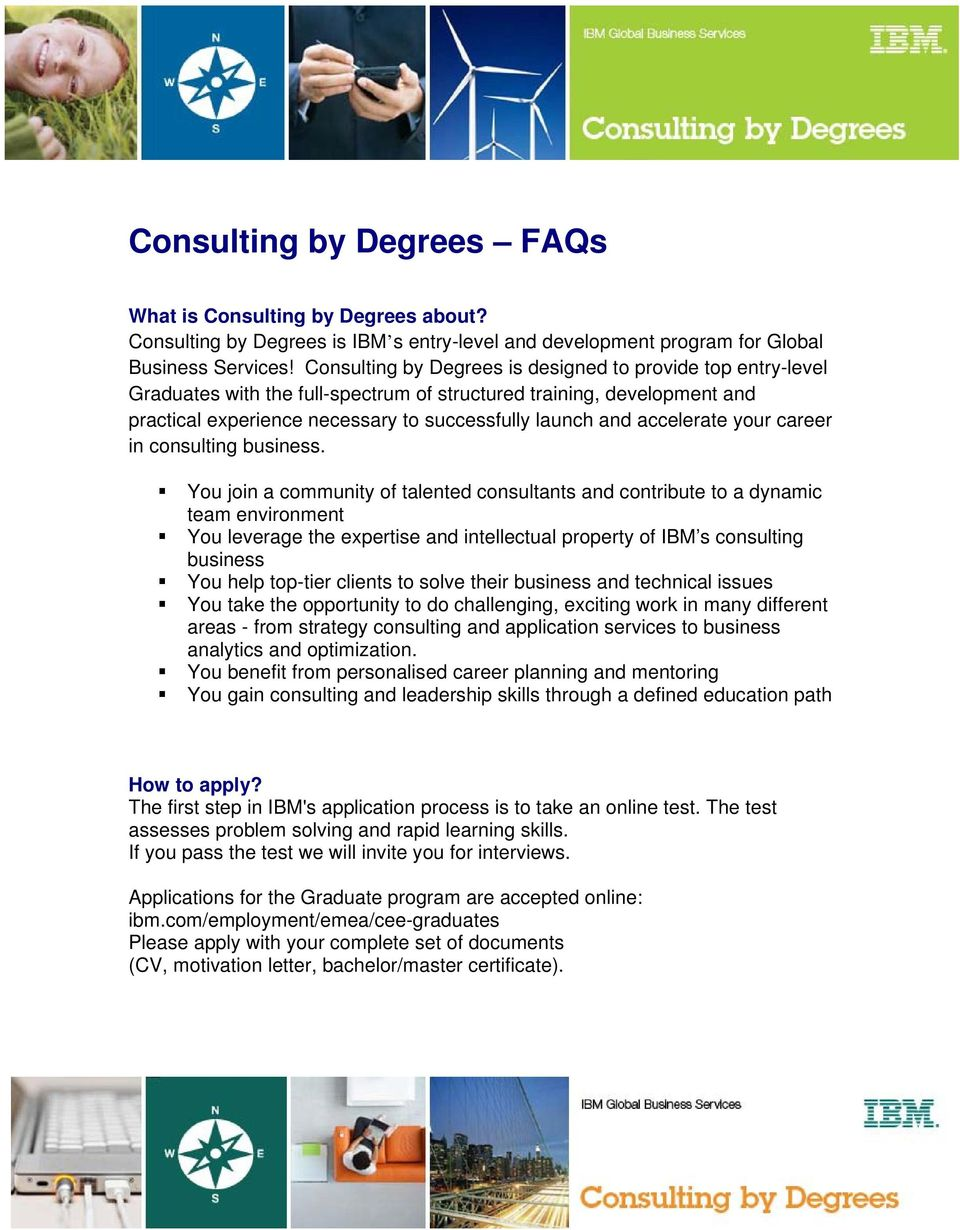 accelerate your career in consulting business.