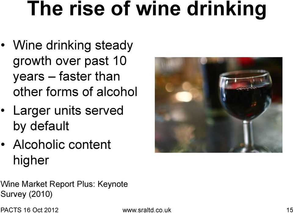 served by default Alcoholic content higher Wine Market Report