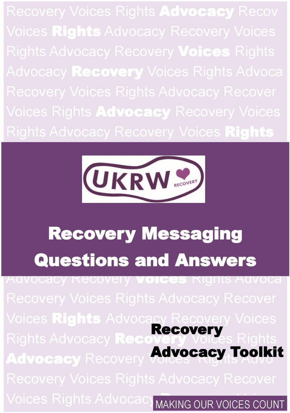 Recovery Voices Rights Questions Advocacy Recovery and Answers Voices Rights Advocacy Recovery Voices Rights Advoca Recovery Voices Rights Advocacy Recover Voices Rights Advocacy Recovery Voices