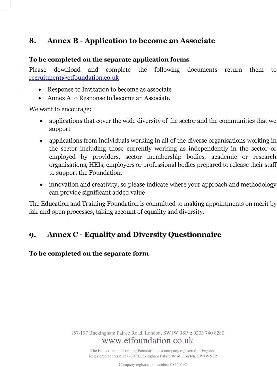 pleted on the separate application forms Please download and com