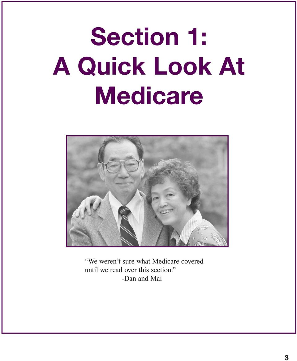 Medicare covered until we read