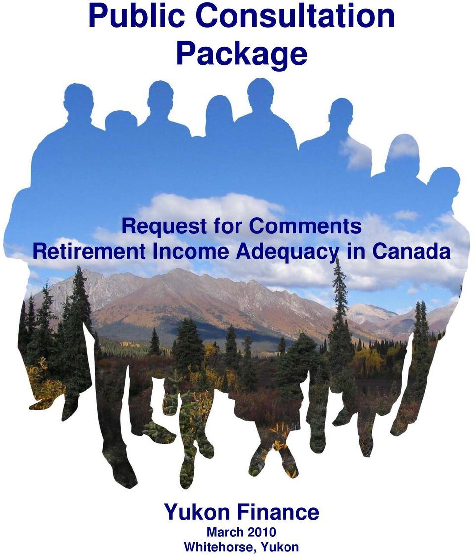 Income Adequacy in Canada Yukon