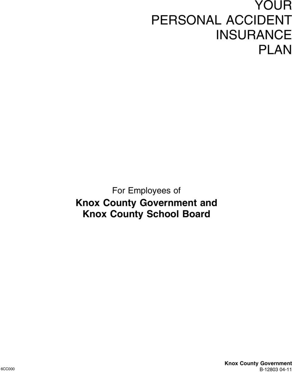 Government and Knox County School