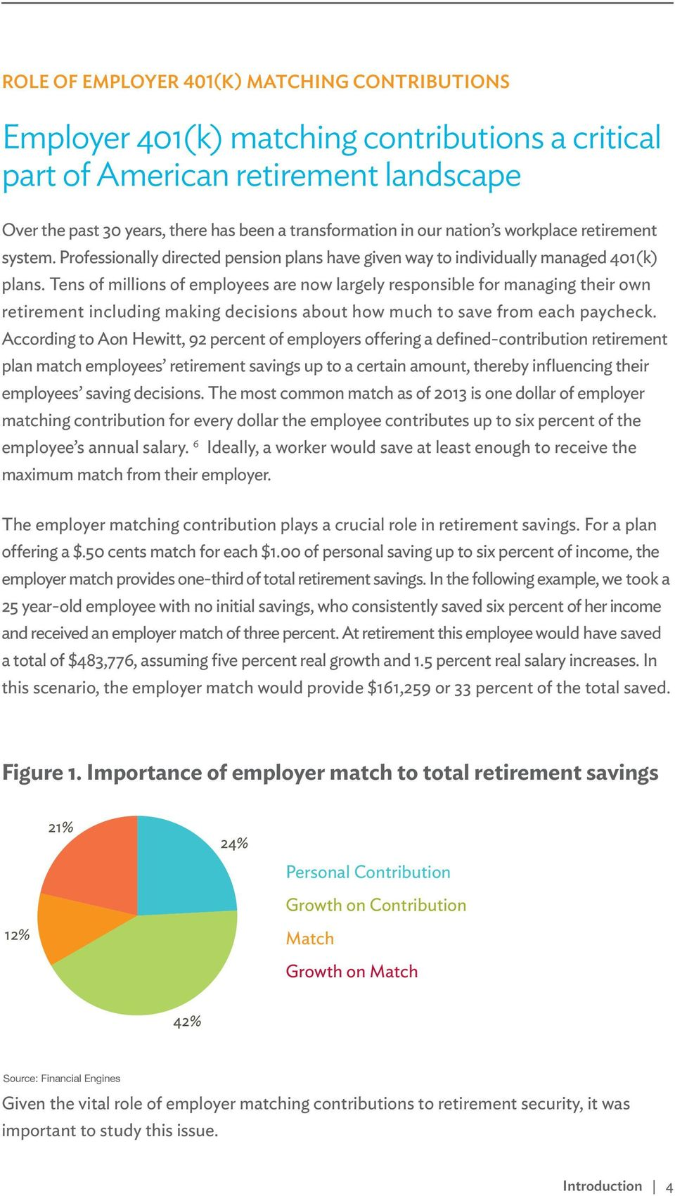 Tens of millions of employees are now largely responsible for managing their own retirement including making decisions about how much to save from each paycheck.