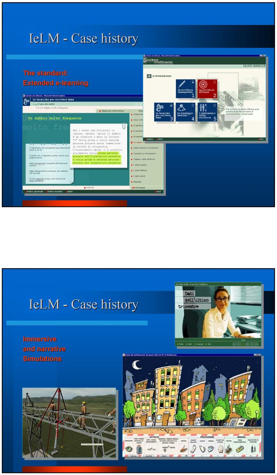 e-learning IeLM - Case