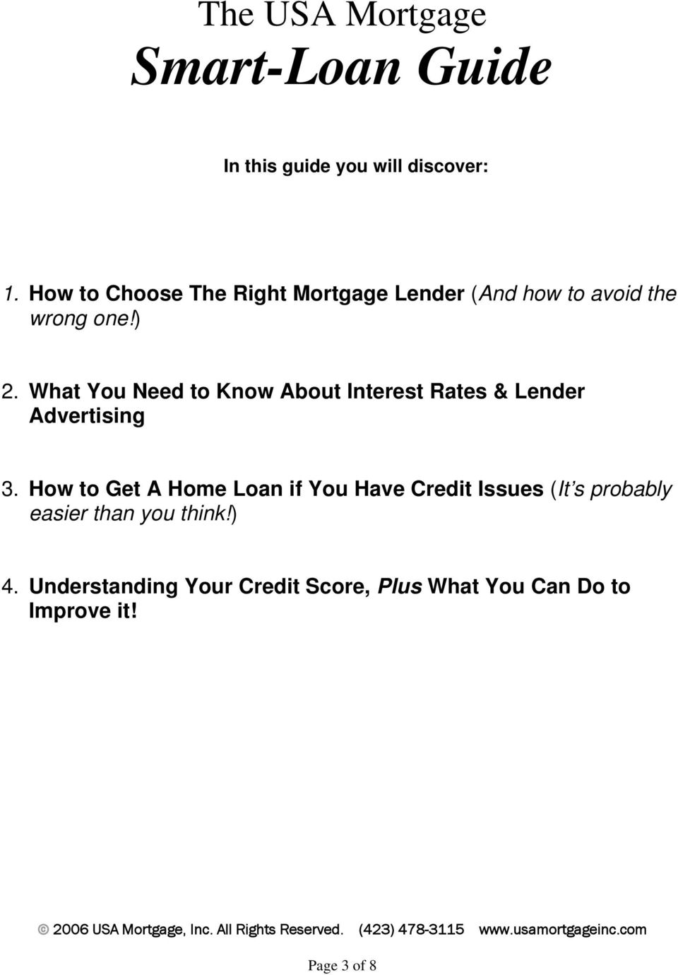 What You Need to Know About Interest Rates & Lender Advertising 3.
