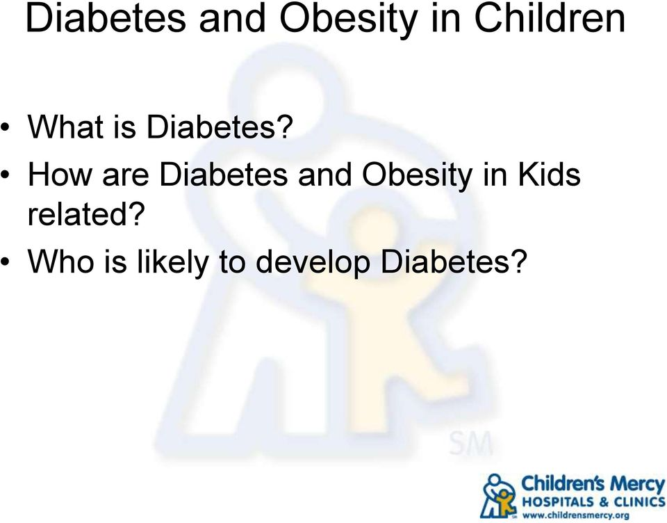 How are Diabetes and Obesity in