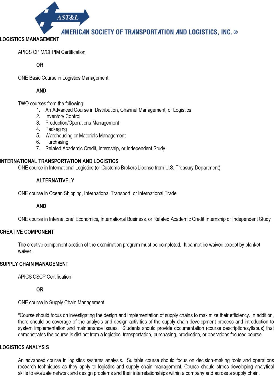 Related Academic Credit, Internship, or Independent St