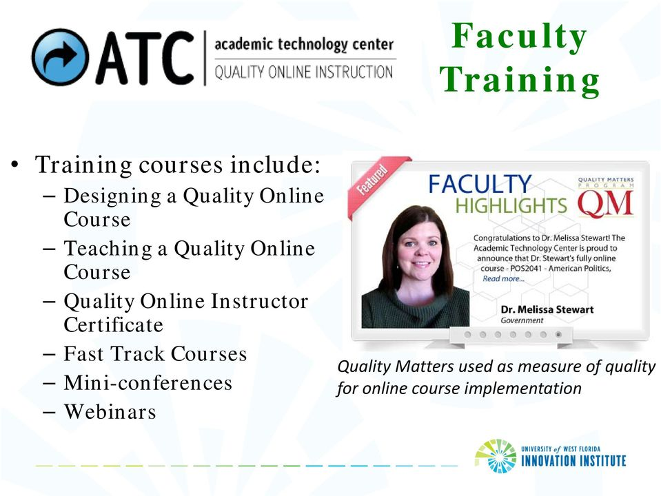 Instructor Certificate Fast Track Courses Mini-conferences