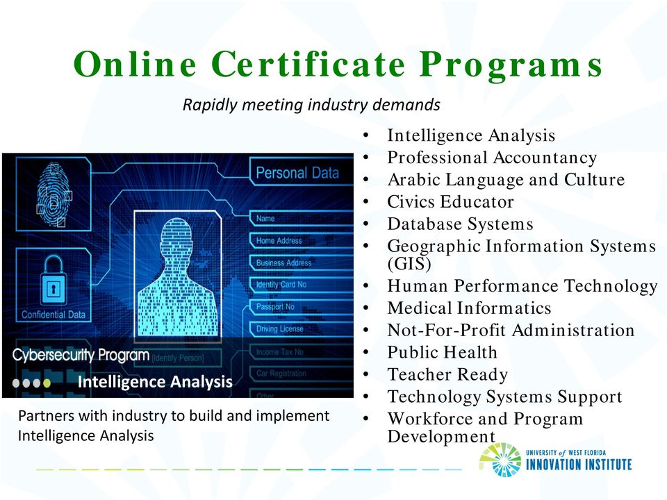 Civics Educator Database Systems Geographic Information Systems (GIS) Human Performance Technology Medical