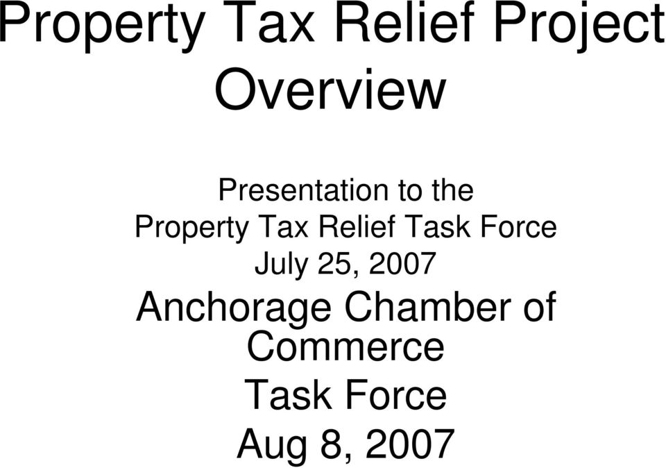 Force Anchorage Chamber
