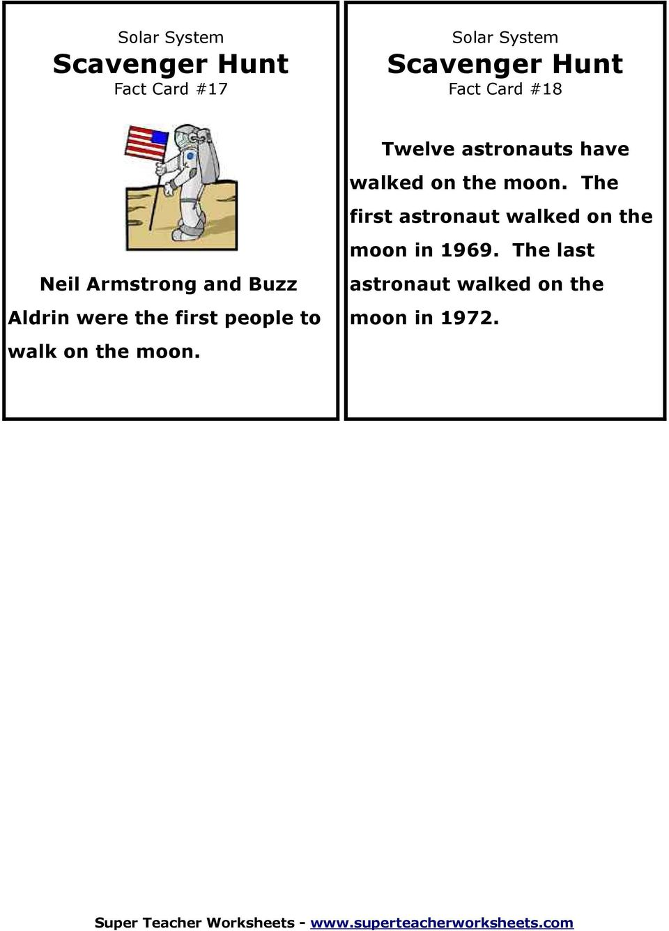 The last Neil Armstrong and Buzz Aldrin were the first