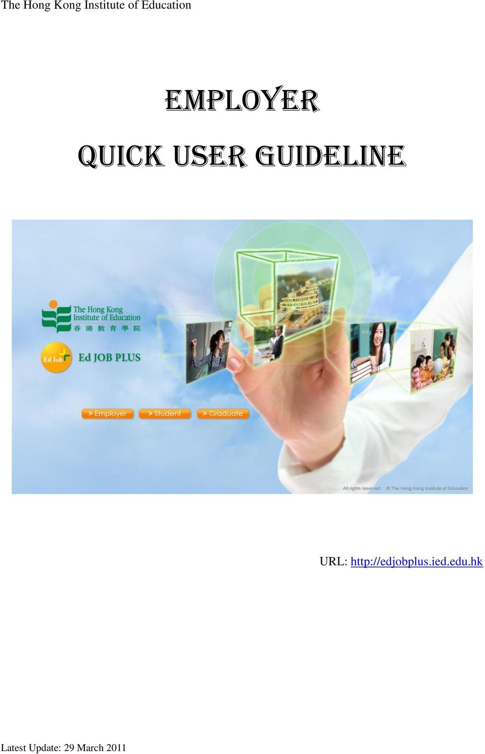 Quick User Guideline