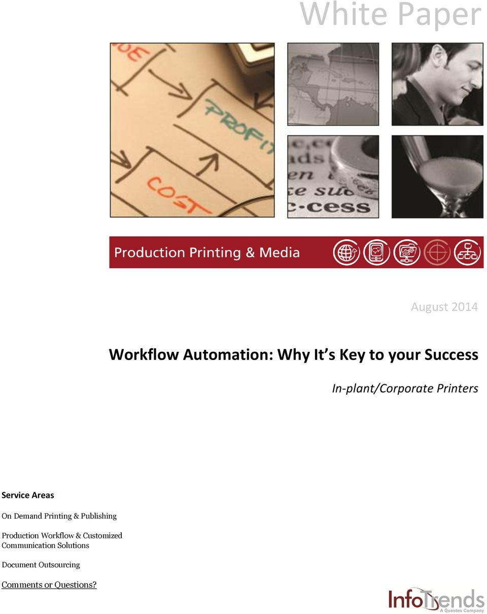 Demand Printing & Publishing Production Workflow & Customized