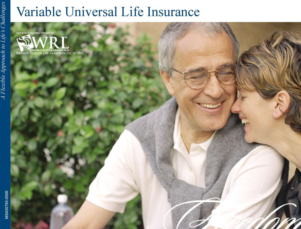 Variable Annuities offered by: Western