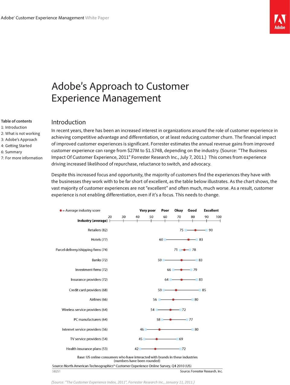 The financial impact of improved customer experiences is significant. Forrester estimates the annual revenue gains from improved customer experience can range from $27M to $1.