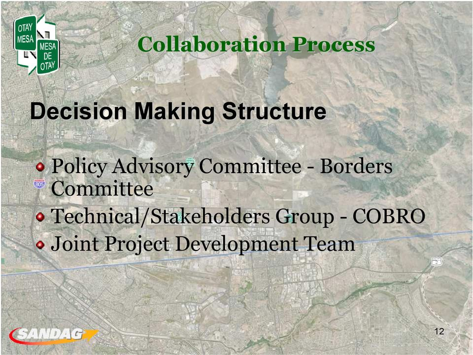 Borders Committee Technical/Stakeholders