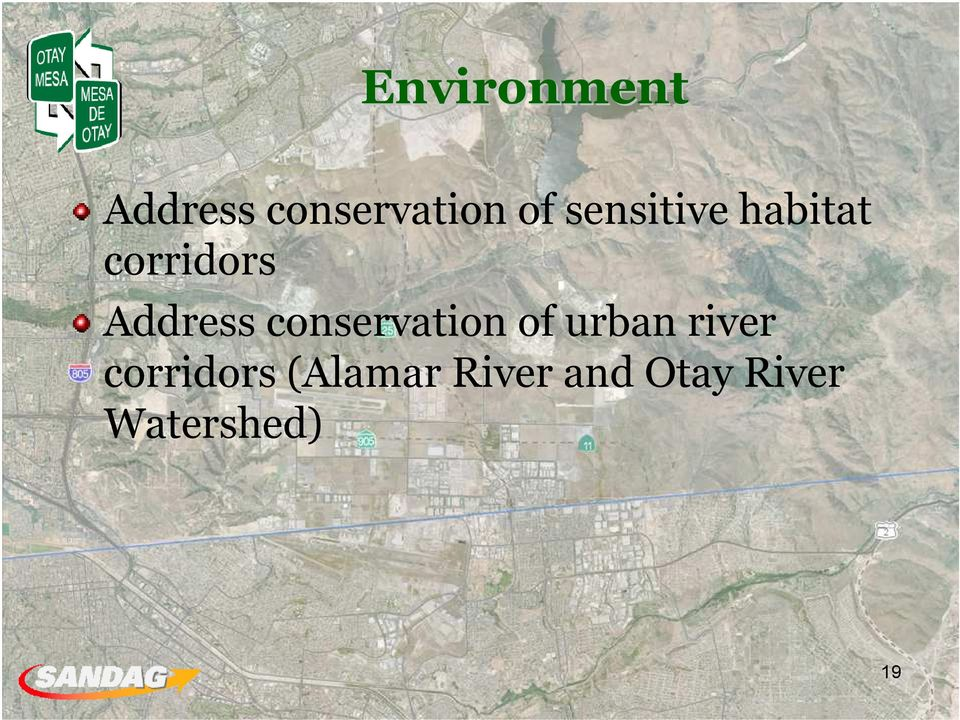 conservation of urban river corridors