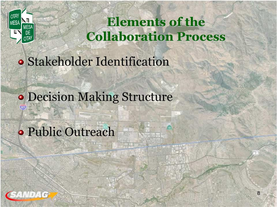 Stakeholder Identification